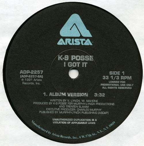 Bild K-9 Posse - I Got It (12, Promo) Schallplatten Ankauf