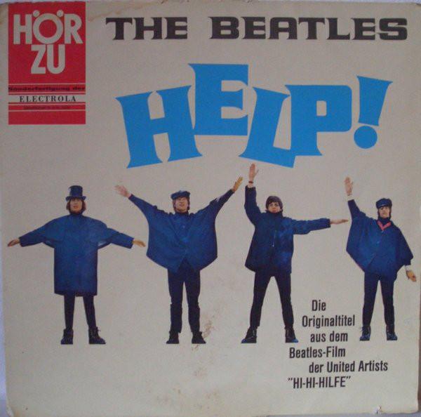 Cover The Beatles - Help! (LP, Album) Schallplatten Ankauf