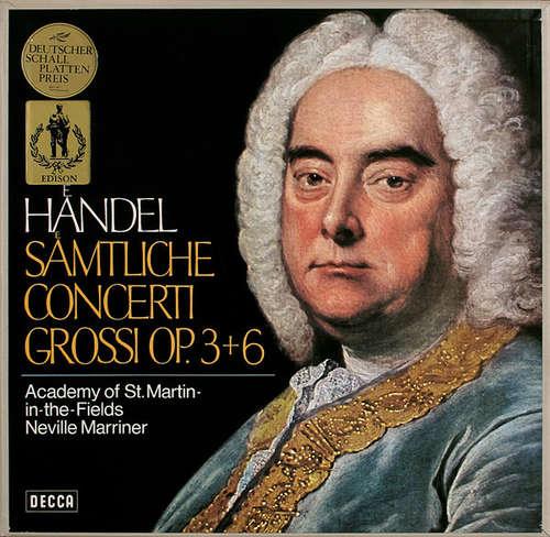Bild Händel* / Academy Of St. Martin-in-the-Fields*, Neville Marriner* - Sämtliche Concerti Grossi Op. 3+6 (4xLP + Box) Schallplatten Ankauf