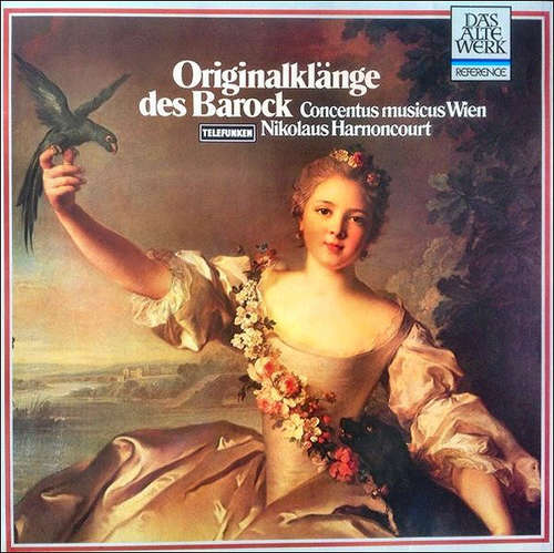Bild Concentus Musicus Wien • Nikolaus Harnoncourt - Originalklänge des Barock (LP, RE) Schallplatten Ankauf