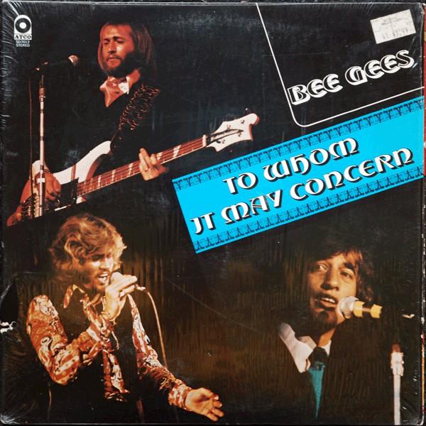 Bild Bee Gees - To Whom It May Concern (LP, Album, Ric) Schallplatten Ankauf