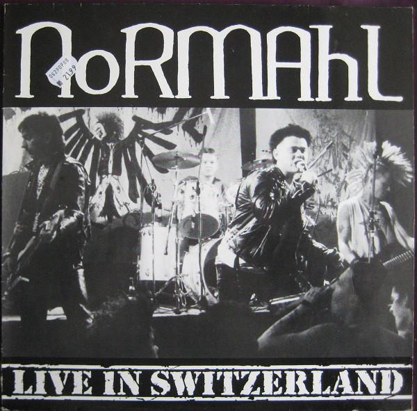 Cover Normahl - Live In Switzerland (LP, RE) Schallplatten Ankauf