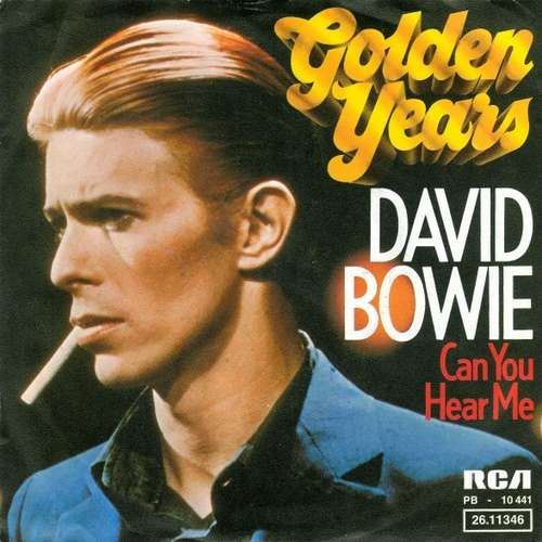 Cover David Bowie - Golden Years (7, Single) Schallplatten Ankauf