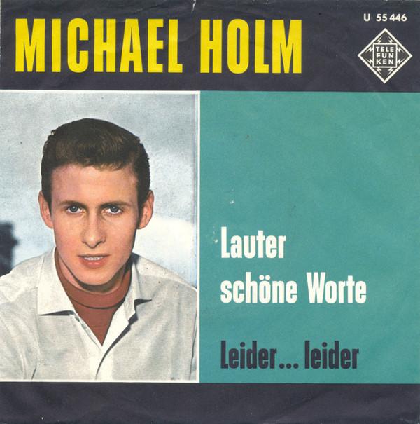 Cover Michael Holm Und Die Sunnies - Lauter Schöne Worte (7, Single) Schallplatten Ankauf