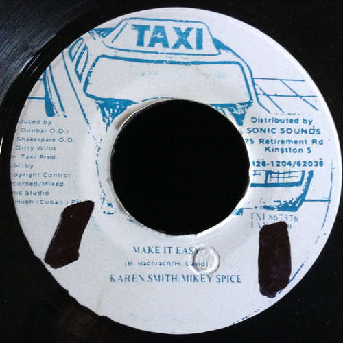Bild Karen Smith, Mikey Spice, The Taxi Gang - Make It Easy, Easy Yourself (7) Schallplatten Ankauf