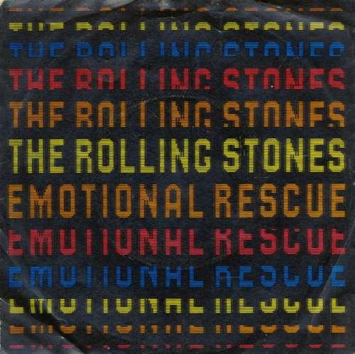 Cover The Rolling Stones - Emotional Rescue (7, Single) Schallplatten Ankauf