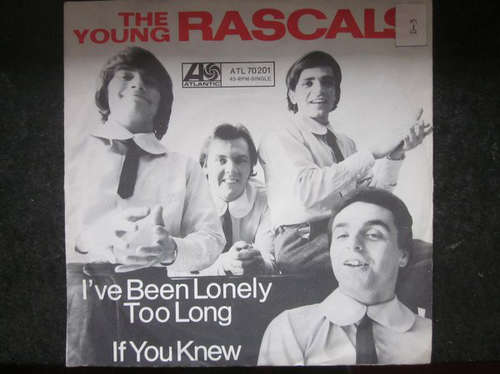 Bild The Young Rascals - Lonely Too Long / If You Knew (7, Single) Schallplatten Ankauf