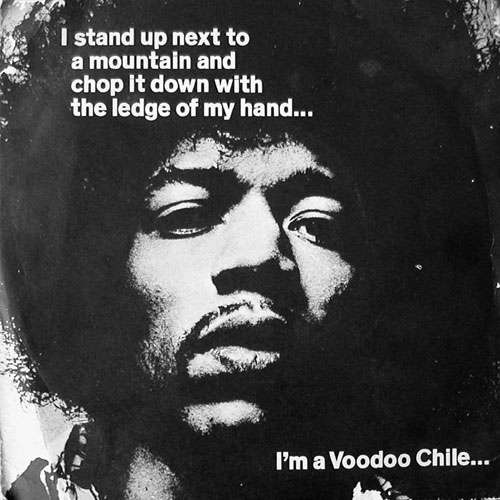 Cover The Jimi Hendrix Experience - Voodoo Chile (7, Single) Schallplatten Ankauf