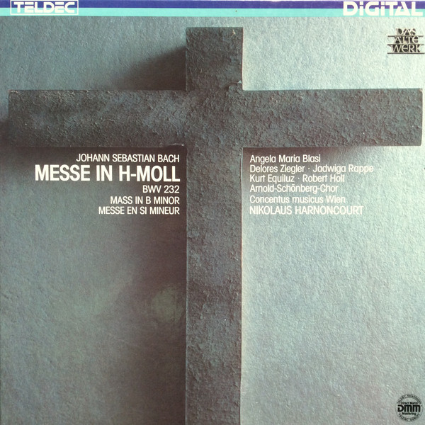 Bild Johann Sebastian Bach, Concentus Musicus Wien, Nikolaus Harnoncourt - Messe In H-Moll BWV 232 = Mass In B-Minor = Messe En Si-Mineur (2xLP + Box) Schallplatten Ankauf