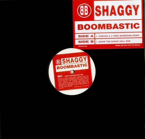 Cover Shaggy - Boombastic (Jungle Mixes) (12, Promo) Schallplatten Ankauf
