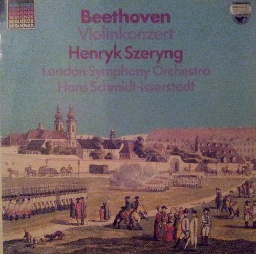 Bild Beethoven* - Henryk Szeryng, London Symphony Orchestra*, Hans Schmidt-Isserstedt - Violinkonzert (LP, Album, RE) Schallplatten Ankauf