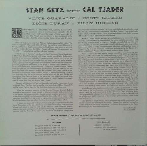 Cover Stan Getz - Stan Getz (LP, Album, RE) Schallplatten Ankauf