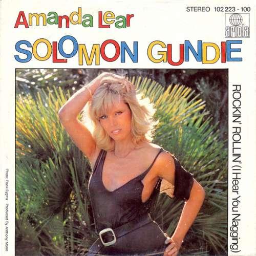 Cover zu Amanda Lear - Solomon Gundie (7, Single, Glo) Schallplatten Ankauf