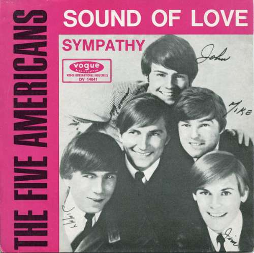 Bild The Five Americans - Sound Of Love / Sympathy (7, Single) Schallplatten Ankauf