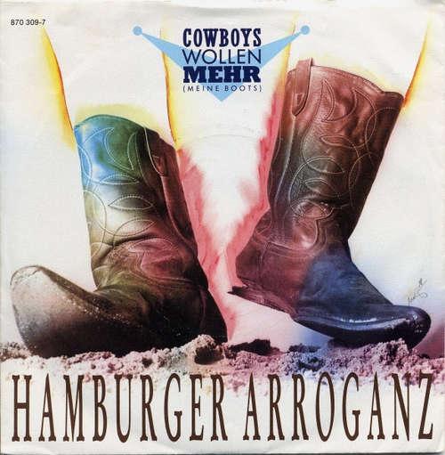 Cover Hamburger Arroganz - Cowboys Wollen Mehr (Meine Boots) (7) Schallplatten Ankauf