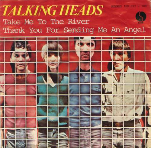 Cover Talking Heads - Take Me To The River / Thank You For Sending Me An Angel (7, Single) Schallplatten Ankauf