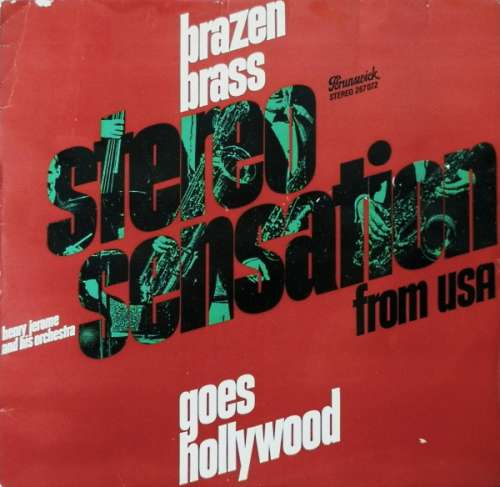 Bild Henry Jerome And His Orchestra - Brazen Brass Goes Hollywood (LP, Album) Schallplatten Ankauf