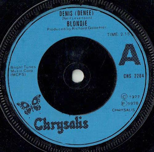 Cover Blondie - Denis (Denee) (7, Single, Inj) Schallplatten Ankauf