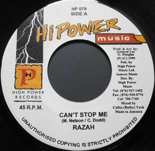Bild Razah - Can't Stop Me (7) Schallplatten Ankauf
