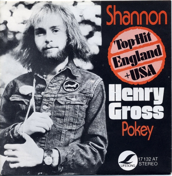 Cover Henry Gross - Shannon (7, Single) Schallplatten Ankauf
