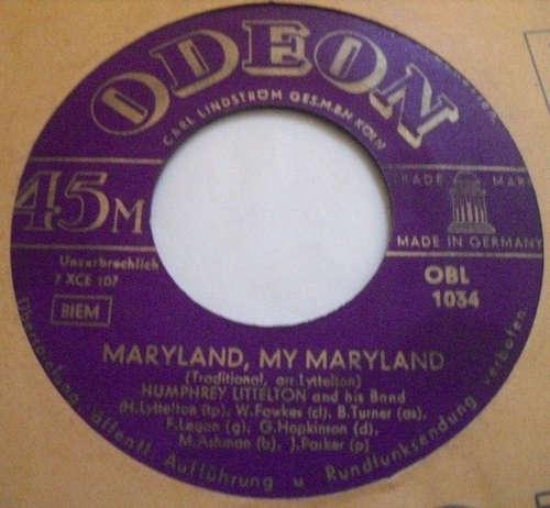 Bild Humphrey Lyttelton And His Band - Maryland, My Maryland / Blue For Waterloo (7, Single) Schallplatten Ankauf