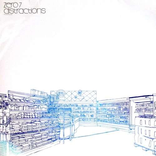 Cover Zero 7 - Distractions (12) Schallplatten Ankauf