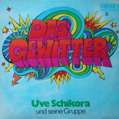 Cover zu Uve Schikora Und Seine Gruppe - Das Gewitter (LP, Album) Schallplatten Ankauf
