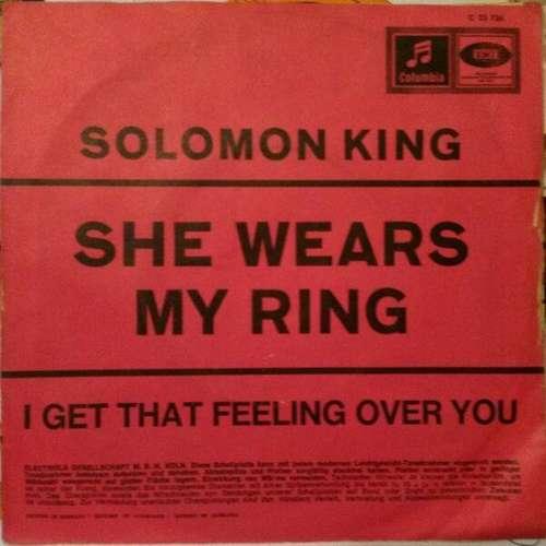Bild Solomon King - She Wears My Ring (7) Schallplatten Ankauf