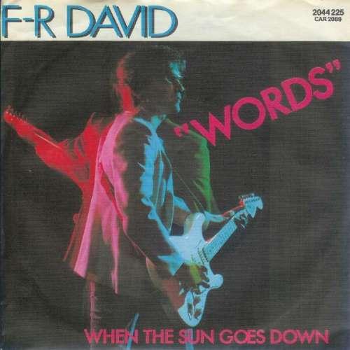 Bild F-R David* - Words (7, Single) Schallplatten Ankauf
