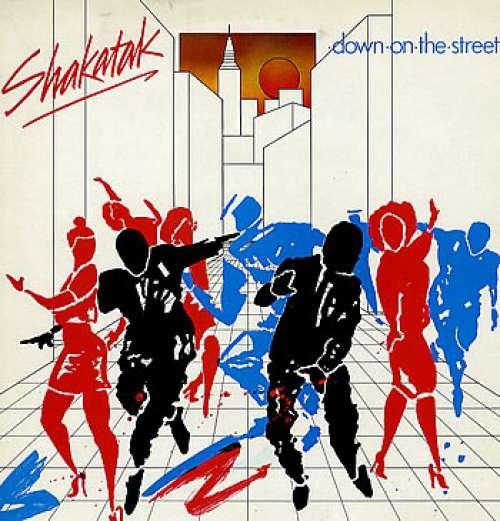 Cover Shakatak - Down On The Street (LP, Album) Schallplatten Ankauf