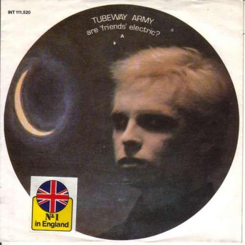 Bild Tubeway Army - Are 'Friends' Electric? (7, Single) Schallplatten Ankauf