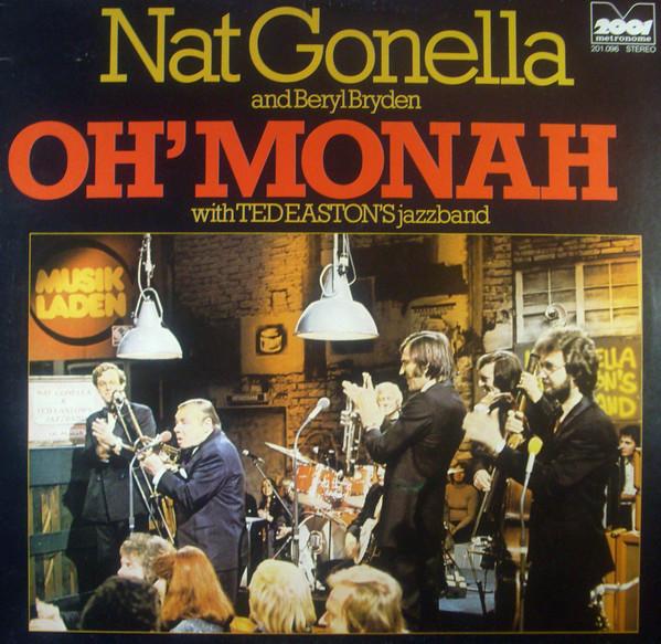 Bild Nat Gonella And Beryl Bryden With Ted Easton's Jazzband - Oh' Monah (LP, Album, RE) Schallplatten Ankauf