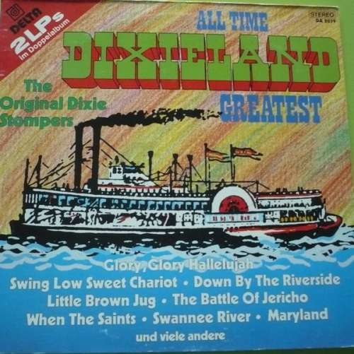 Cover The Original Dixie Stompers - All Time Dixieland Greatest (2xLP) Schallplatten Ankauf