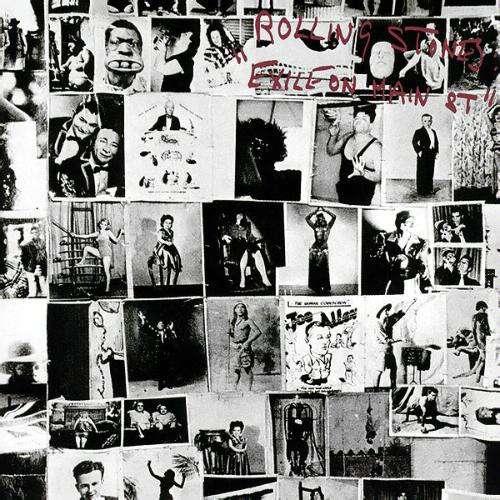 Cover The Rolling Stones - Exile On Main St. (2xLP, Album) Schallplatten Ankauf