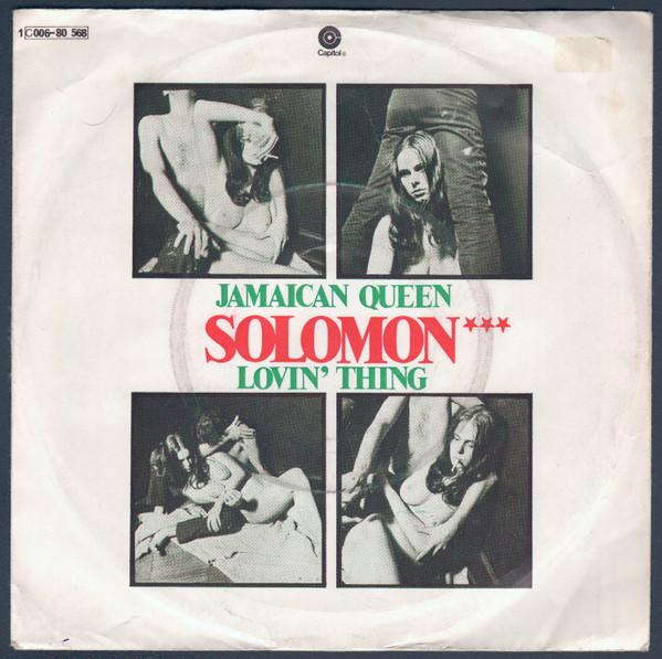 Cover zu Solomon (20) - Jamaican Queen / Lovin' Thing (7) Schallplatten Ankauf