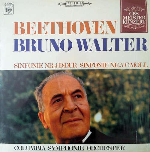 Bild Beethoven* - Bruno Walter, Columbia Symphonie Orchester* - Sinfonie Nr. 4 B-Dur / Sinfonie Nr. 5 C-Moll (LP) Schallplatten Ankauf
