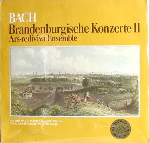 Bild Ars Rediviva Ensemble - Bach Brandenburgische Konzerte II (LP) Schallplatten Ankauf