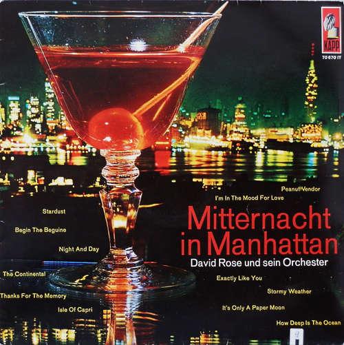 Cover David Rose Und Sein Orchester* - Mitternacht In Manhattan (LP, Mono) Schallplatten Ankauf