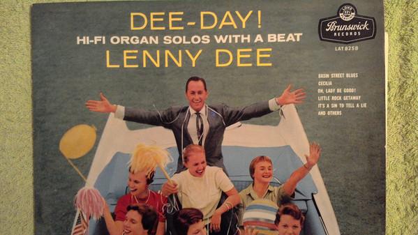 Cover Lenny Dee (2) - Dee-Day! (LP, Album, Mono) Schallplatten Ankauf