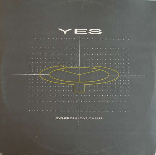 Cover Yes - Owner Of A Lonely Heart (12) Schallplatten Ankauf
