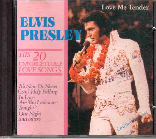 Cover Elvis Presley - Elvis Presley His 20 Unforgettable Love Songs (CD, Comp) Schallplatten Ankauf