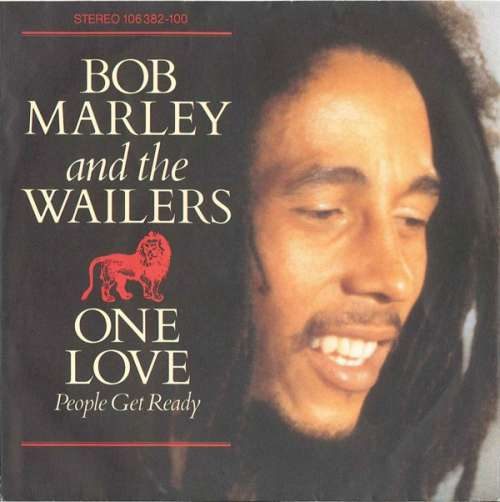 Cover zu Bob Marley And The Wailers* - One Love/People Get Ready (7, Single) Schallplatten Ankauf