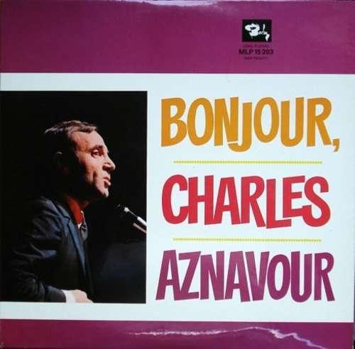 Bild Charles Aznavour - Bonjour, Charles Aznavour (LP, Comp) Schallplatten Ankauf