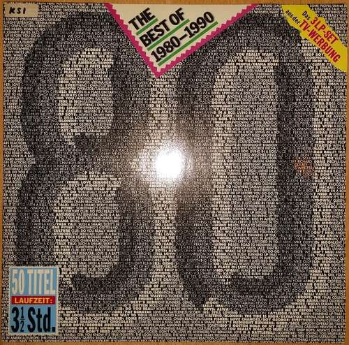 Cover Various - The Best Of 1980-1990 (3xLP, Comp) Schallplatten Ankauf