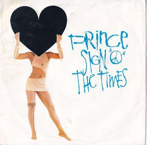 Cover Prince - Sign O The Times (7, Single) Schallplatten Ankauf