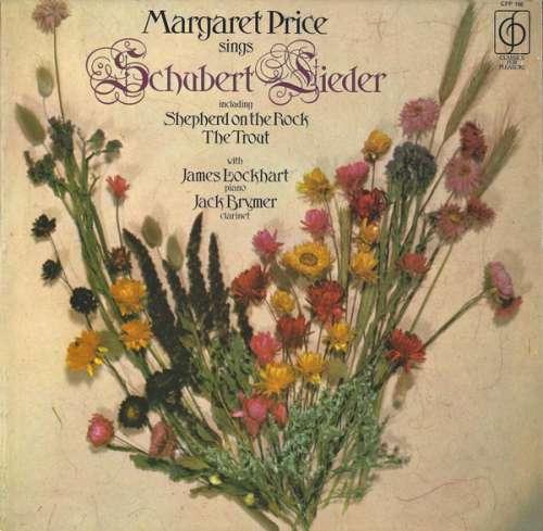 Bild Margaret Price Sings Schubert* With James Lockhart, Jack Brymer - Margaret Price Sings Schubert Lieder (LP) Schallplatten Ankauf
