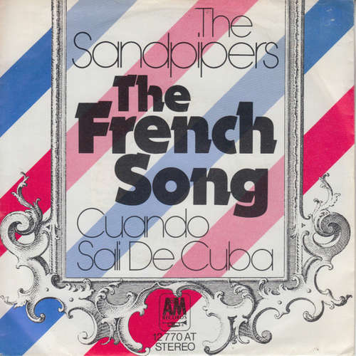 Cover The Sandpipers - The French Song (7, Single) Schallplatten Ankauf