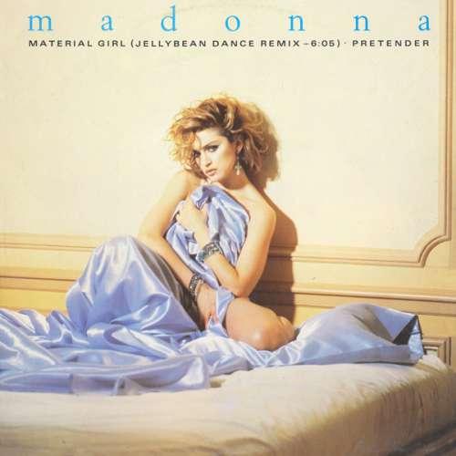 Cover Madonna - Material Girl (Jellybean Dance Remix) / Pretender (12, Maxi) Schallplatten Ankauf
