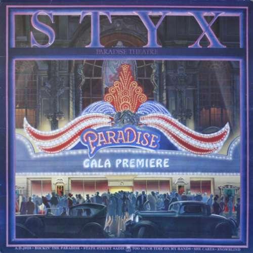 Cover Styx - Paradise Theatre (LP, Album, Gat) Schallplatten Ankauf