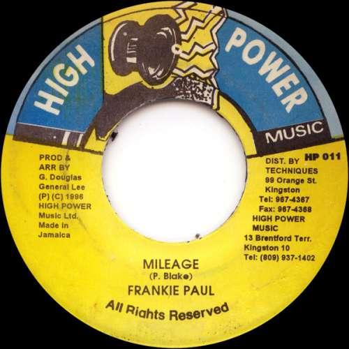 Bild Frankie Paul - Mileage (7) Schallplatten Ankauf